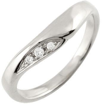 V字 ダイヤモンド プラチナ リング ダイヤモンドリング 婚約指輪 エンゲージリング【コンビニ受取対応商品】 大きいサイズ対応 送料無料