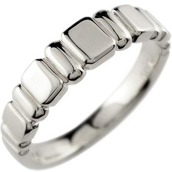 プラチナ リング 指輪 ピンキーリング 地金リング【コンビニ受取対応商品】 大きいサイズ対応 送料無料