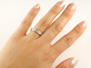 ダイヤモンドリング 指輪 ダイヤ シンプルストレートシルバー925 レディース 楽ギフ 包装コンビニ受取対応商品大きいサイズ対応 送料無料4L35jqAR