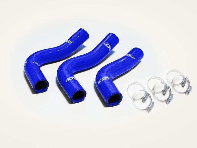 【 ロードスター NA8C / BP用 】 クールナッツ 7層ラジエターホースセット (カラー:ブルー) 品番: 1508-B (Cool Nuts Radiator hose) ※送料無料 (沖縄県および離島は除く)