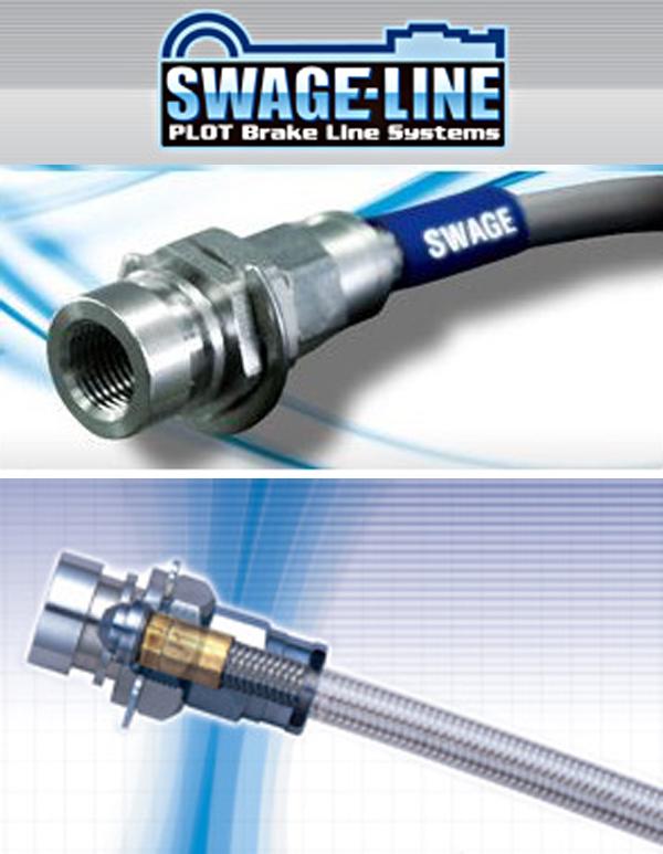 【 アルファード ANH10W, MNH10W, ANH15W, MNH15W用 】 プロト スウェッジライン ブレーキホース (スチール) 前後1台分キット 品番: ST4057N ( PLOT SWAGE-LINE BRAKE HOSE kit )