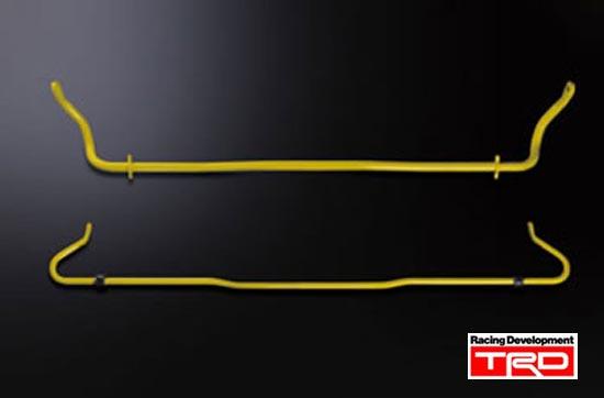 【 TOYOTA 86 (ハチロク) DBA-ZN6 / FA20用 】 TRD スタビライザーセット≪フロント・リヤ≫ ( 品番:MS270-18001 ) TRD PERFORMANCE PARTS