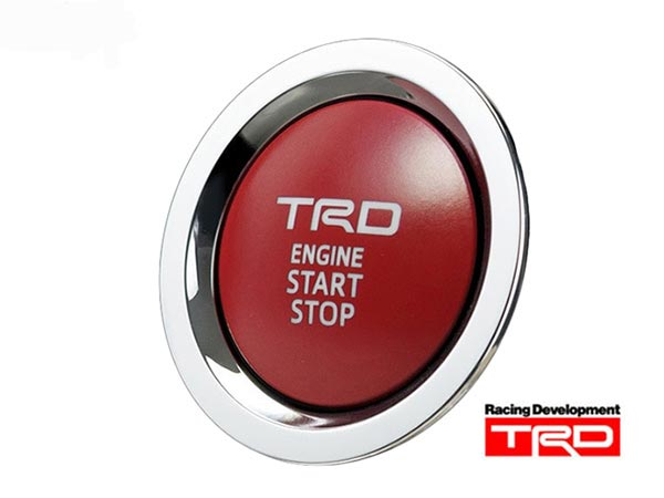 【 TOYOTA 86 (ハチロク) DBA-ZN6 / FA20用 】 TRD プッシュスタートスイッチ ( 品番:MS422-00003 ) TRD PERFORMANCE PARTS