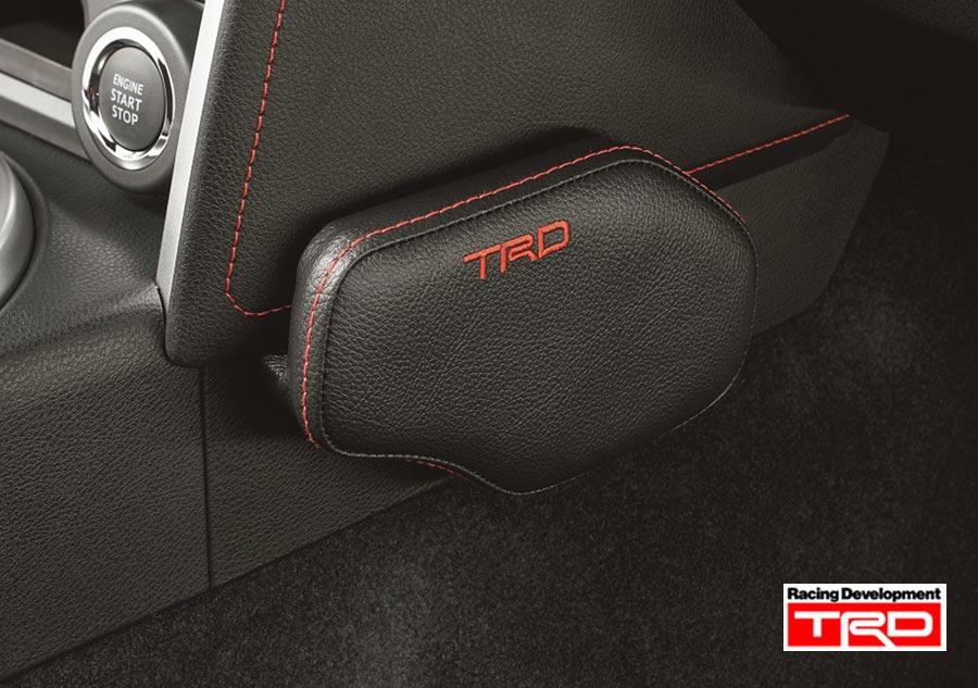 【 TOYOTA 86 (ハチロク) DBA-ZN6 / FA20用 】 TRD ニーパッド 運転席用(左右セット) 品番: MS354-18001 (TRD PERFORMANCE PARTS)