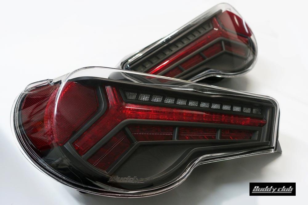 【 TOYOTA 86 (ハチロク) DBA-ZN6 / FA20用 】 バーディークラブ P-1レーシング LEDテールランプキット Ver.2 ( Buddy Club P-1 RACING LED TAIL LAMP KIT Ver.2 ) ◎流れるウィンカー(流灯式)