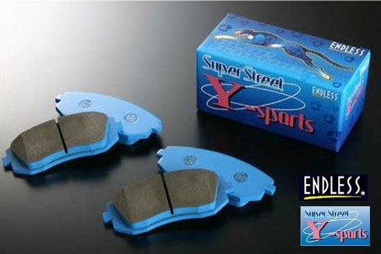 【 TOYOTA 86 (ハチロク) ZN6 グレード:GT, GT Limited用 】 ENDLESS ブレーキパッド SSY 前後1台分セット 品番:EP386 / EP472 ( エンドレス ブレーキパッド ENDLESS BRAKE PAD )