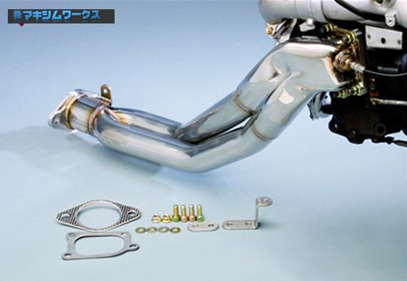 【 RX-7 FD3S / 13B-REW(5型・6型)用 】 マキシムワークス エキゾーストマニホールド コードNo.1100ZE055 (MAXIM WORKS EX.Manifold)