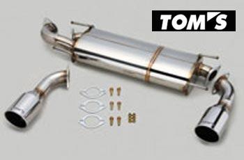 【 TOYOTA 86 (ハチロク) DBA-ZN6 / FA20用 】 トムス エギゾーストシステム バレルマフラー 2テール 品番コード: 17400-TZN60-A ( TOM'S Exhaust System Barrel ) ※送料無料 (沖縄県および離島は除く)
