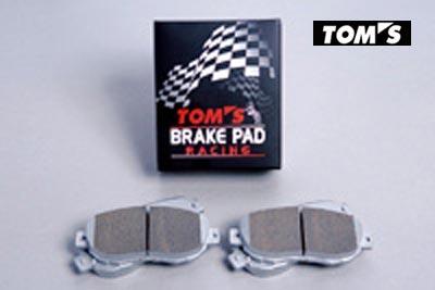 【 TOYOTA 86 (ハチロク) DBA-ZN6 / グレードGT系用 】 トムス ブレーキパッド・レーシング (リア用) 品番コード: 0449A-TR849 ( TOM'S Brake Pad )