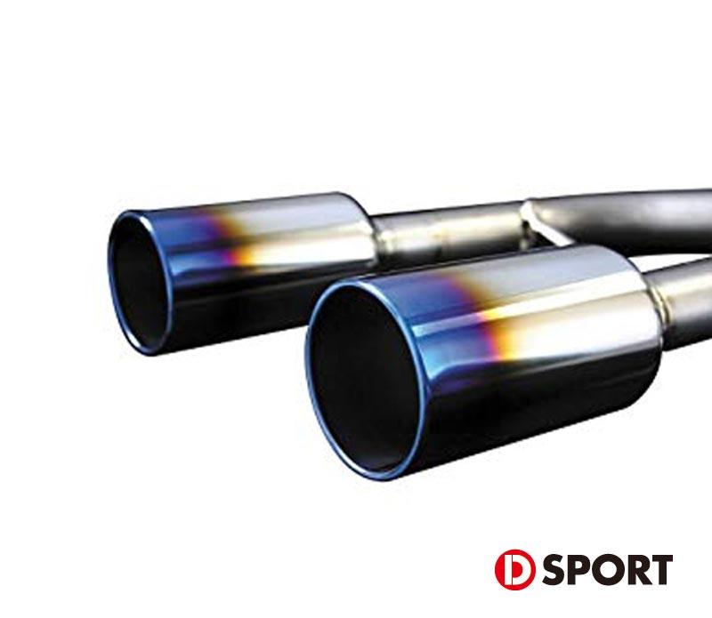 【 コペン L880K / JB-DET用 】 D-SPORT (Dスポーツ) チタンテール〔リヤピース〕 品番:17400-R085T ※送料無料 (沖縄県および離島は除く)