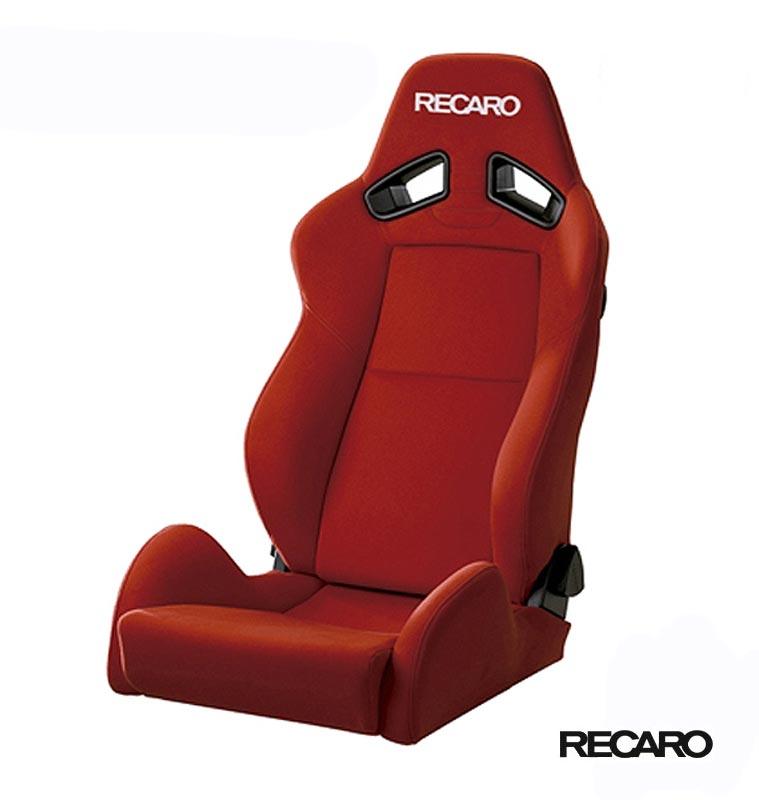 RECARO SR-7 KK100 (セミバケット スポーツシート) カムイ×カムイ生地 レッド×レッド 品番: 81-092.00.830-0 (レカロ正規品)