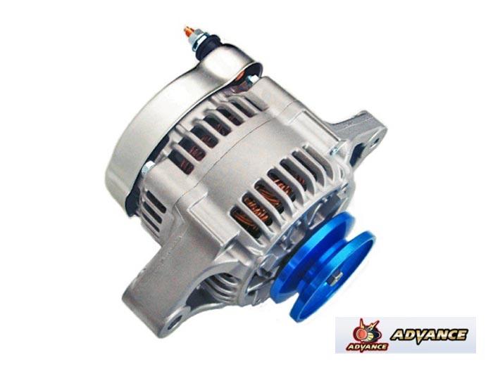【 AZ-1 PG6SA / F6A用 】 アドバンス ハイパワーオルタネーター / ブループーリー (ADVANCE High-Power Alternator) 品番:KH-F6A-1V-C ※送料無料 (沖縄県および離島は除く)