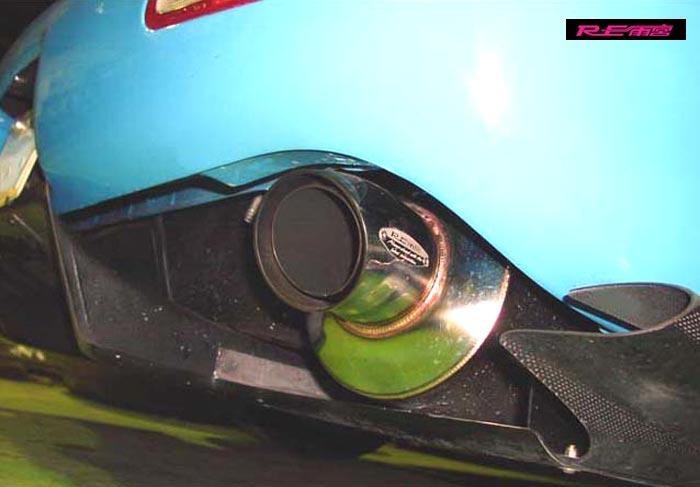 【 RX-7 FD3S / 13B-REW 用 】 RE雨宮 TAレプリカ ドルフィン テールマフラー品番: M0-022036-031 (RE-AMEMIYA TA-Replica Dolphin Tail Muffler)