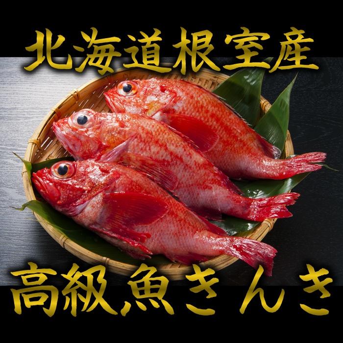 真っ赤な魚体が特徴で とても希少価値が高い高級魚です 淡白な白身に脂が絡み一口食べると必ずハマってしまいます また お祝いの品として使われることもあります 送料無料 北海道根室産きんき めんめ 3尾1kg前後 キンキ キチジ 吉次 高級魚 保障 当店限定販売 御祝 ギフト 魚 御歳暮 鮮魚 焼き魚 煮魚 北海道グルメ 記念日 北海道産 お歳暮 贈答用 プレゼント