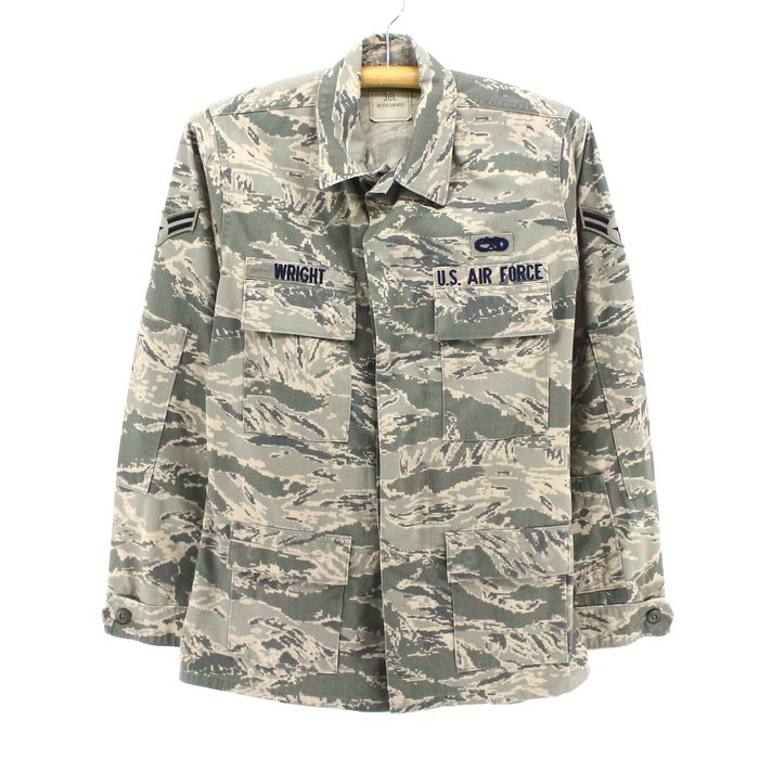2,000s U.S. air force military digital duck camouflage jacket ★ United States old clothes American casual old clothes men old clothes used you