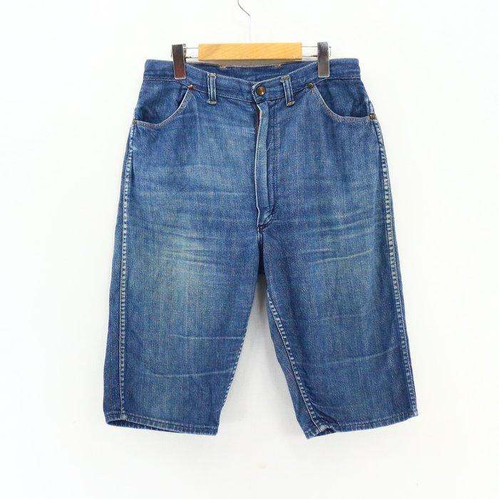 denim shorts in the 60's