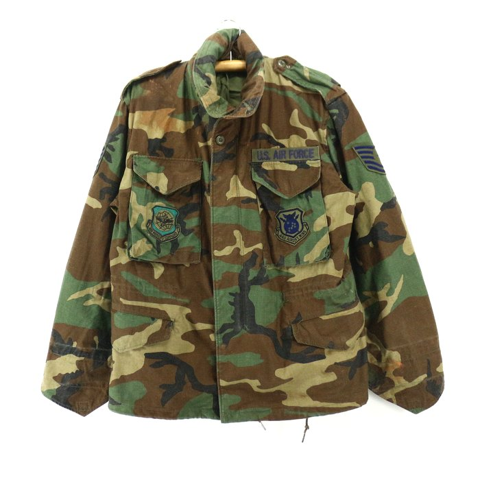 Old clothes 90s U.S.ARMY Woodland duck M 65 military jacket ★ 90s United States old clothes American casual old clothes men old clothes used ユーズド