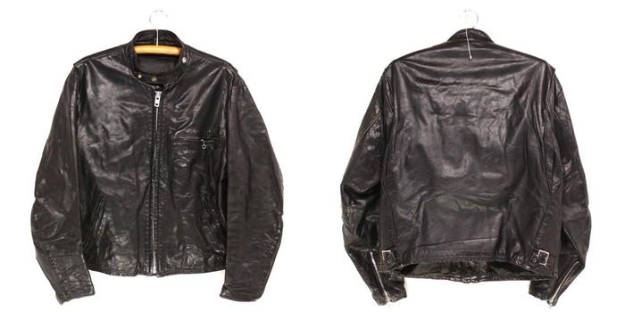 古着 80s SCHOTT シングルレザーライダースジャケット 80年代USA買い付け古着ユーズドXLサイズ Lサイズ 大きいサイズ ビッグサイズ レザージャケット ショット プレゼント ギフト 衣装SUMjVqGLpz