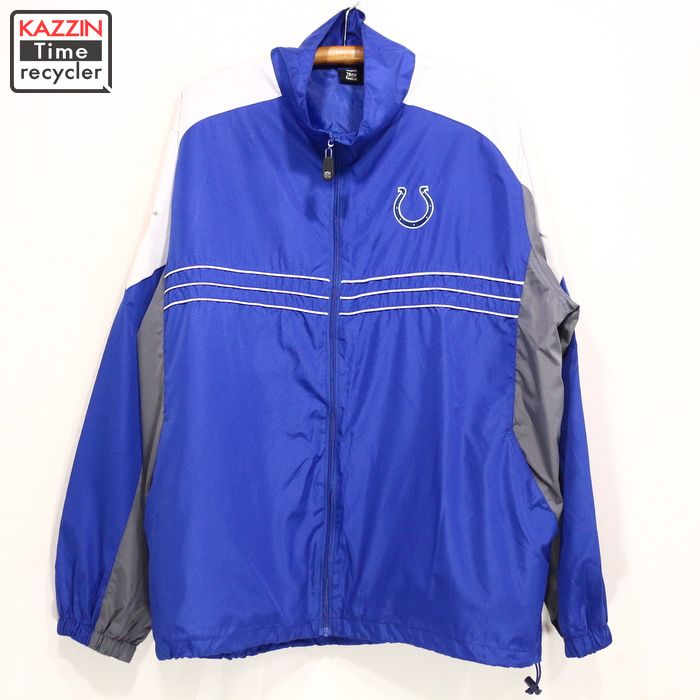 huge discount 38392 03b6b The size big size blue American football REEBOK Christmas present gift  which NFL Colts jacket ★ XL size large size made of Reebok has a big for  2,000s