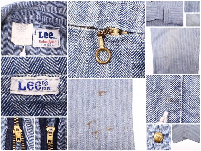 古着 70s Lee オールインワン 70年代USA買い付け古着ユーズドXLサイ Lサイズ 大きいサイズ ビッグサイズ 43インチ ワーク つなぎ リーヴィンテージUSA製プレゼント ギフト 衣装T1cFKl3uJ