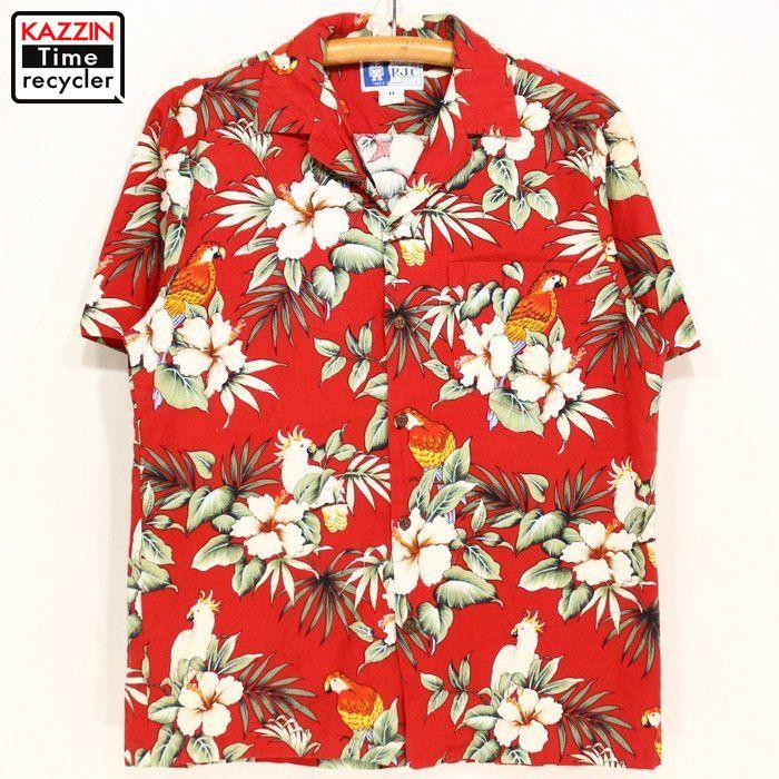 38e38aad Vintage Clothing shop KAZZIN Time recycler: Hawaiian shirt ☆ 90s ...