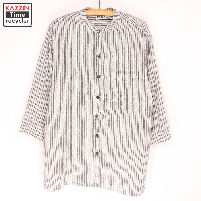 e592a6c3180 Vintage Clothing shop KAZZIN Time recycler  Old clothes stripe band ...