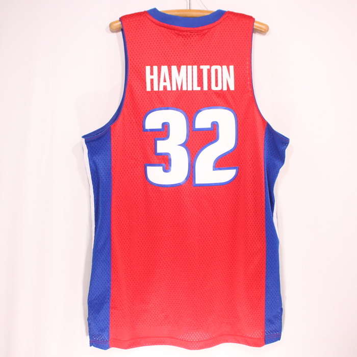 cheap for discount 26841 54666 Old clothes ADIDAS NBA Detroit Pistons Richard Hamilton game jersey ★ large  size red Christmas present gift