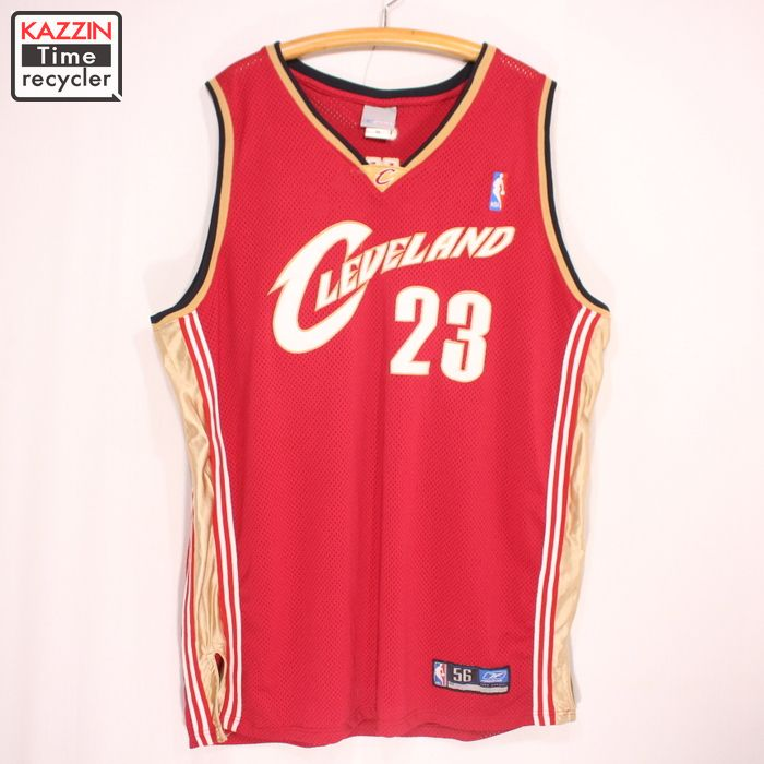 buy popular 5ddca 6fe6f Old clothes Reebok NBA Cleveland Cavaliers Revlon James game jersey ★ XL  size red Christmas present gift