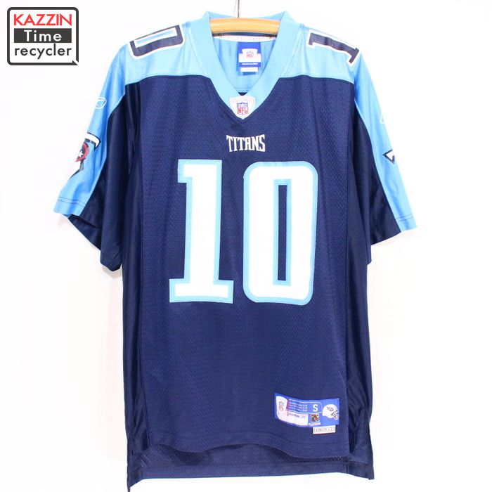 Old clothes NFL Tennessee Titans uniform ☆ medium size navy Christmas  present gift 9a6d00d47