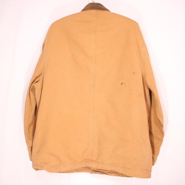古着 90s RALPH LAUREN ダック カバーオール 裏地付き XLサイズ ベージュ プレゼント ギフト 衣装Oym8vn0wN