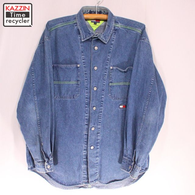 e264bcbb5 Vintage Clothing shop KAZZIN Time recycler: Old clothes 90s TOMMY ...
