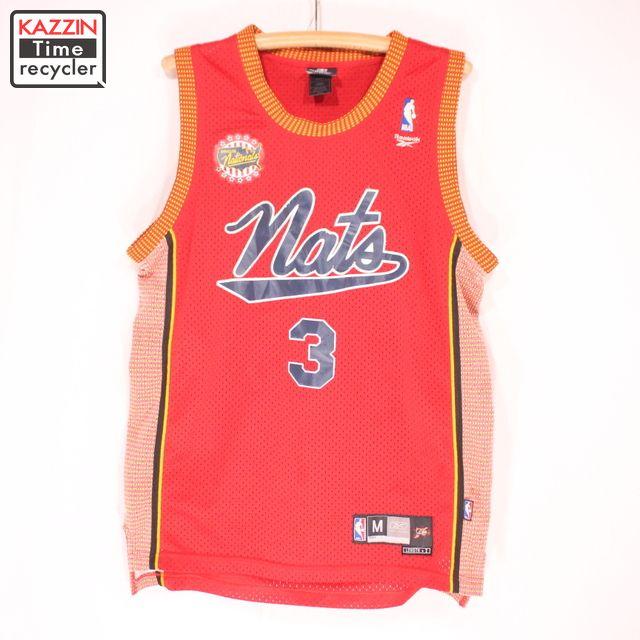 古着 NBA シクサーズ NATS アイバーソン メッシュタンクトップ ★ Lサイズ レッド クリスマス プレゼント ギフト