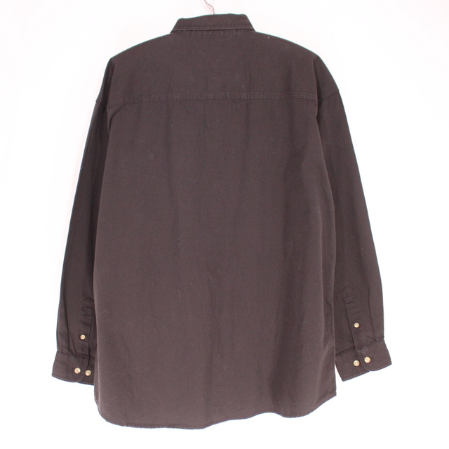 afaaa953cc Vintage Clothing shop KAZZIN Time recycler  Old clothes Lee black denim  shirt ☆ XL size black present gift