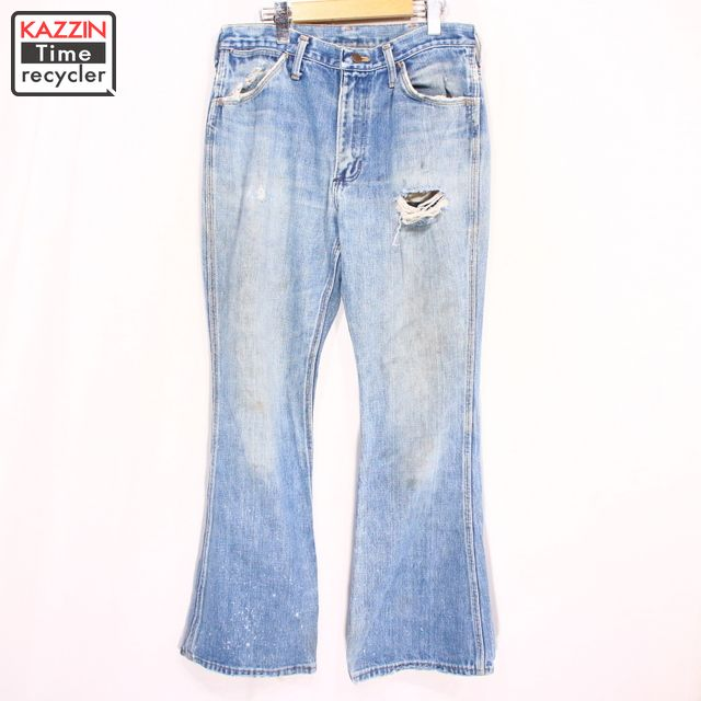 f6bf984e006 Vintage Clothing shop KAZZIN Time recycler  Old clothes 70s WRANGLER ...