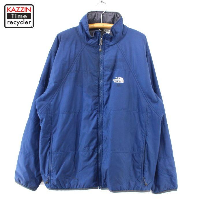 2000s THE NORTH FACE 中綿入り ジャケット 古着 ★ XLサイズ ブルー