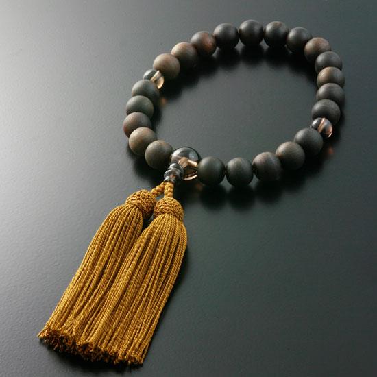 "Rosaries and Rosary ""specials! Head tuft ( Prime ground ) ebony Brown quartz cut (for men) ' short hand wheel"