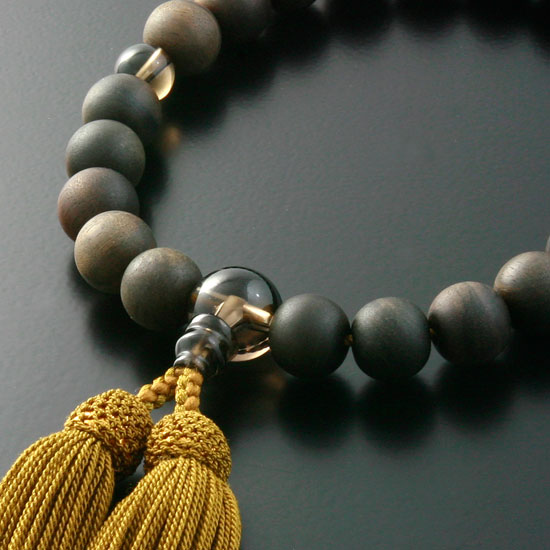 "Rosaries and Rosary ""specials! Head tuft ( Prime ground ) ebony Brown quartz cut (for men) ' short hand wheel"