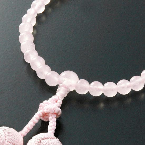 "Rosaries and Rosary ""braiding Brahma bunch Red Crystal ( quartz ) (female)]"