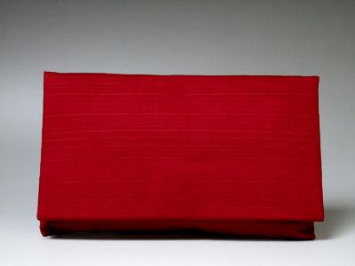 【クーポン配布中! 】数珠袋・数珠入 『紬(つむぎ) 赤』