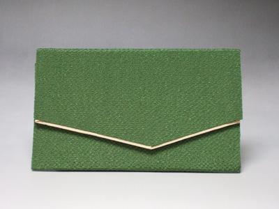 【クーポン配布中! 】【数珠】数珠袋・数珠入 『ちりめん 緑』