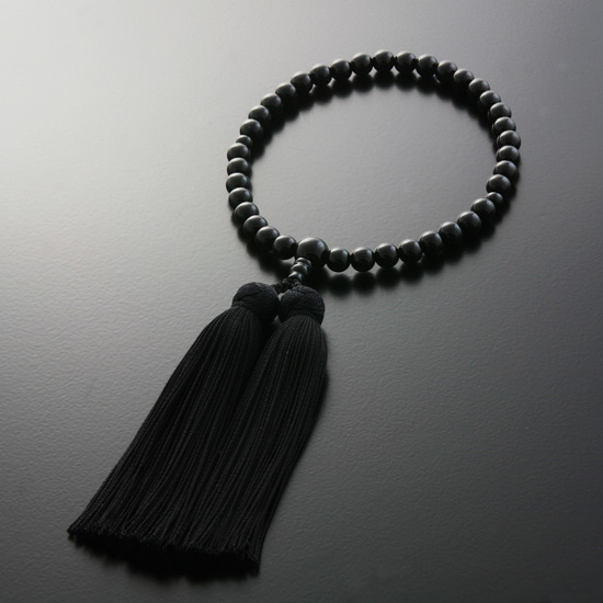 "Rosaries and Rosary ""! Miyako bunch Black Onyx (women) ' short hand wheel"