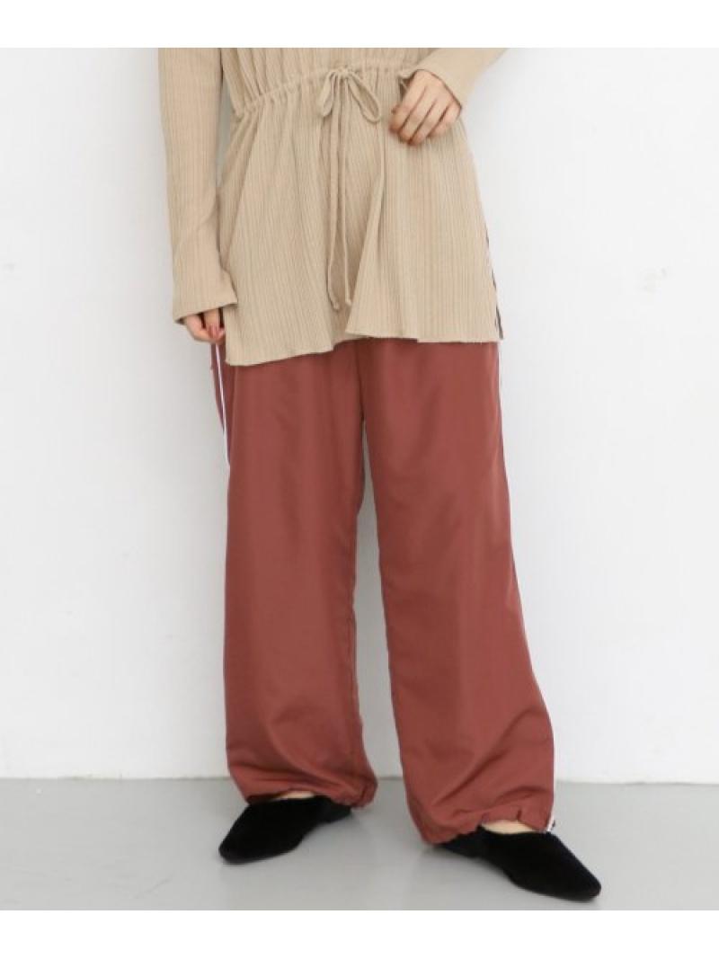 [Rakuten Fashion]ヘムドロストパイピングラインパンツ KBF ケービーエフ パンツ/ジーンズ パンツその他 ブラウン グレー ネイビー【送料無料】