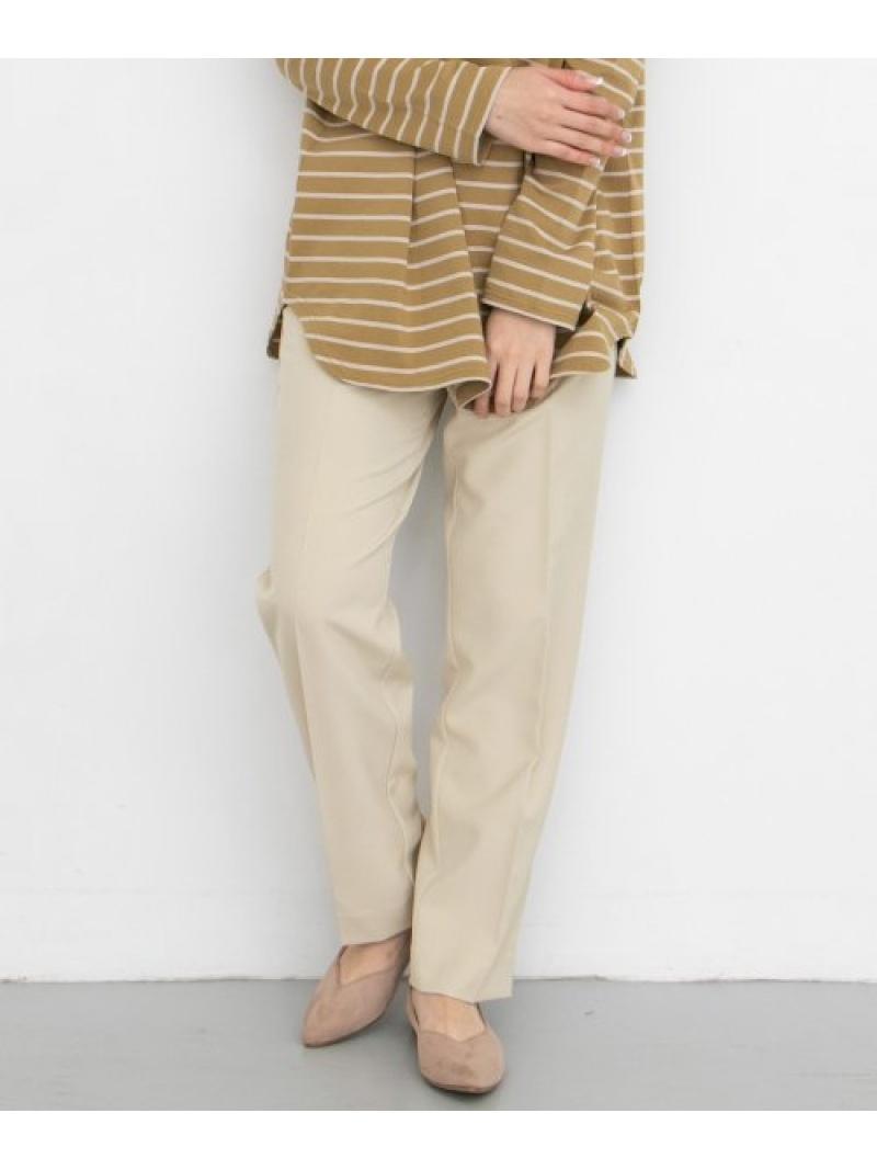 [Rakuten Fashion]illiリラックステーパードパンツ KBF ケービーエフ パンツ/ジーンズ パンツその他 ホワイト カーキ ブラウン【送料無料】