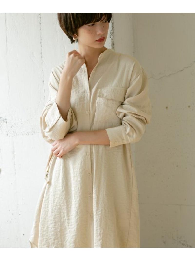 [Rakuten Fashion]【予約】アシンメトリーサイズシャツ KBF ケービーエフ シャツ/ブラウス シャツ/ブラウスその他 ホワイト ブラウン グレー【先行予約】*【送料無料】