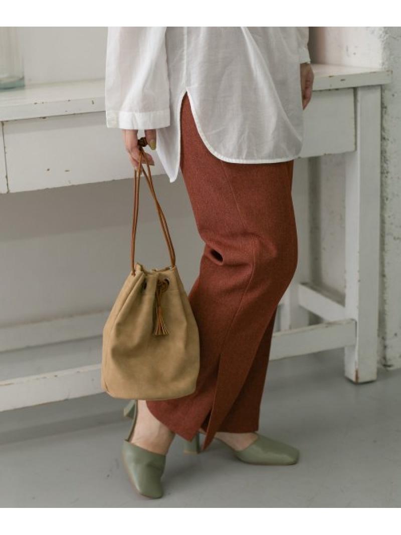 [Rakuten Fashion]タッセルスエードBAG KBF ケービーエフ バッグ バッグその他 ブラウン グレー グリーン【送料無料】