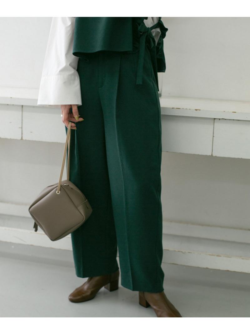 [Rakuten Fashion]WEB限定タックストレートパンツ KBF ケービーエフ パンツ/ジーンズ パンツその他 グリーン グレー ブラック【送料無料】