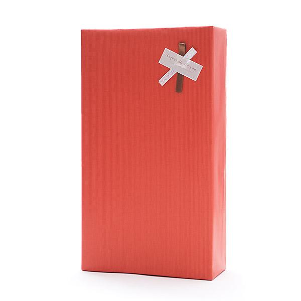 初回限定 即納送料無料! ギフトボックス 2本用 包装紙 のし可 赤