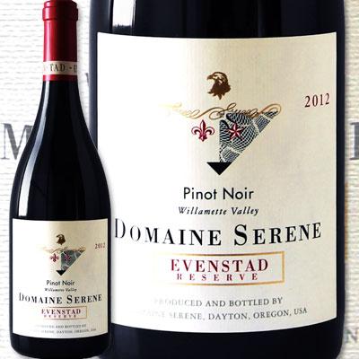 ドメーヌ・セリーヌ・エヴァンスタッド・リザーヴ・ピノ・ノワール 2014 3ヴィンテージ連続ロマネ・コンティのワインに勝った!! アメリカ 赤ワイン 辛口 フルボディよりのミディアムボディ 750ml