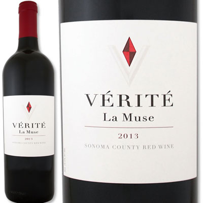 [クーポンで最大2,000円OFF]ヴェリテ・ラ・ミュゼ 2013【Verite】【赤ワイン】【750ml】【パーカー100点】【ソノマ】