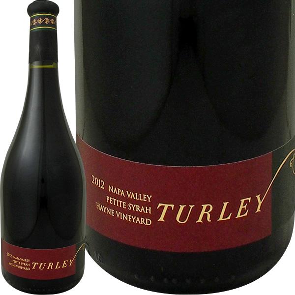 ターリー・ハイン・プティ・シラー2012【赤ワイン】【750ml】【フルボディ】【Turley】【パーカー100点】